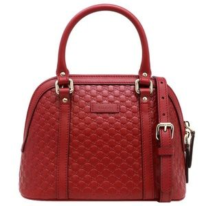 Gucci GG Guccissima Dome Satchel Shoulder Bag